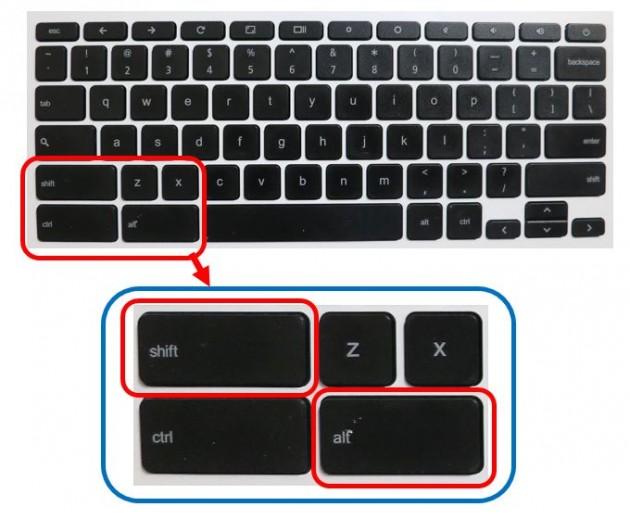 Chromebook 日本語・英語入力切り替え